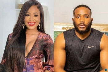 #BBNaija: Erica Warns Kiddwaya To Stay Off Dorathy's Breast (See What She Said)